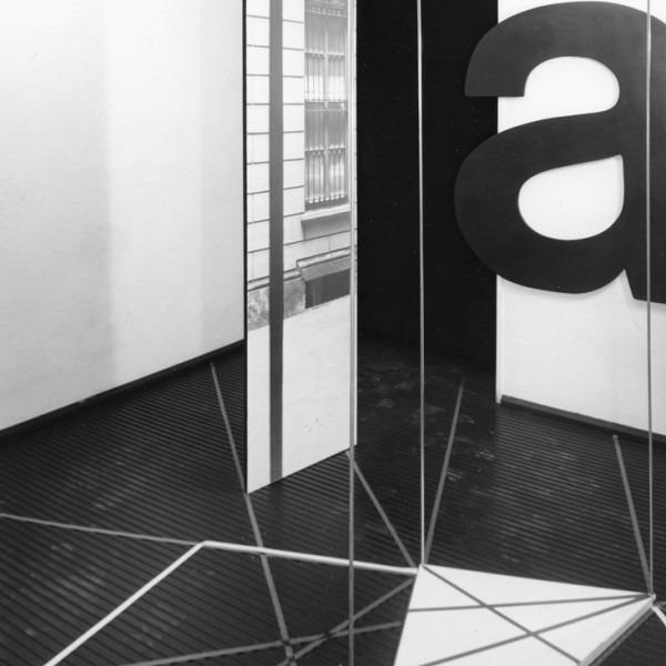 Amalia Del Ponte 1968 Ipotesi per un grande tropo Galleria Annunciata Milano