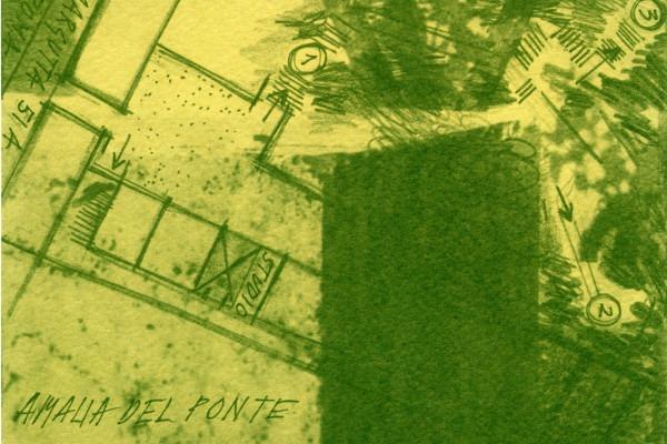 Amalia Del Ponte 1992 Studio-51 Roma invito