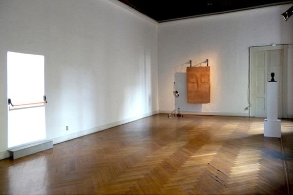 Amalia Del Ponte 2015 La porta senza porta Galleria Milano
