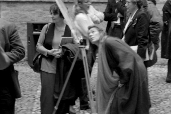 Amalia Del Ponte 1973 Vedere Casa del Mantegna Mantova con Anne Marie Sauzeau Boetti