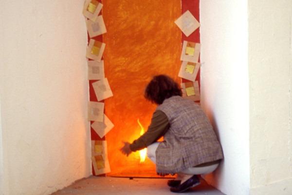 Amalia Del Ponte 1995 L'offerta Biennale di Venezia