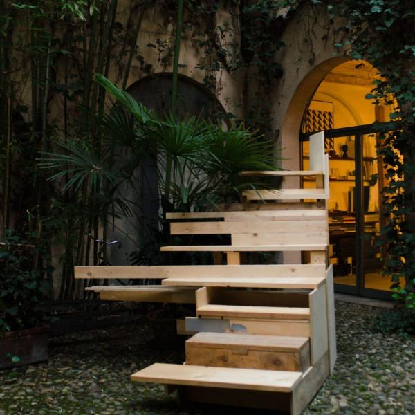 Air in the circle of zero, Presente atemporale, site specific project di Vittorio Cavallini, ph Martina Failla