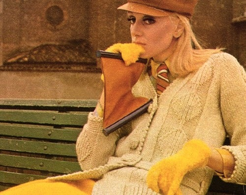Amalia Del Ponte, borsa, 1965, ph Alfa Castaldi