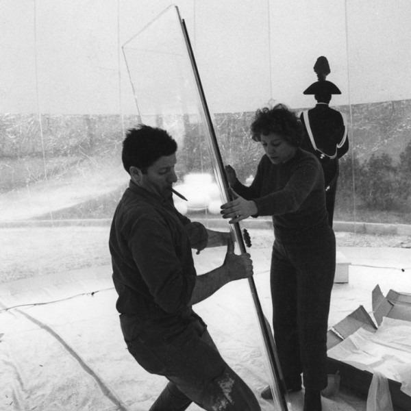 Amalia Del Ponte 1968 Ipotesi per un grande tropo Eurodomus Torino