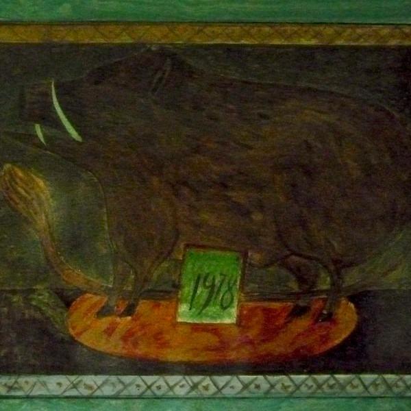 Amalia Del Ponte, Interni del Roccolo di San Viglio (BG), 1978-1980