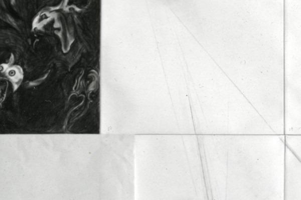 Amalia Del Ponte, Uroboros (dettaglio), 1980