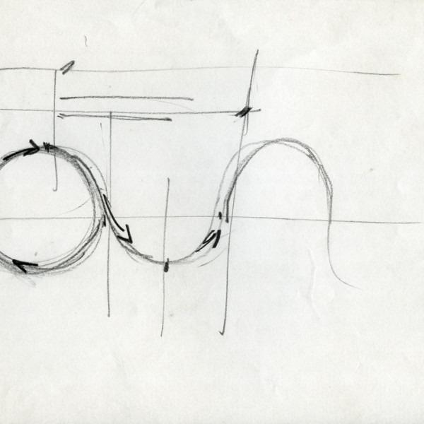 Amalia Del Ponte 1992 Onda, progetto per Cantieri Ansaldo