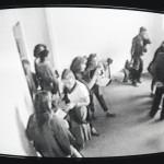 Amalia Del Ponte 1992 Studio-51 Roma performance Gianluca Ruggieri