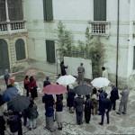 Amalia Del Ponte 1995 Aria della freccia Villa Tiepolo-Passi performance