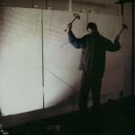Amalia Del Ponte, Performance di Fayçal Zaouali, 1995, Fondazione Mudima, Milano, performance su Aria della Freccia