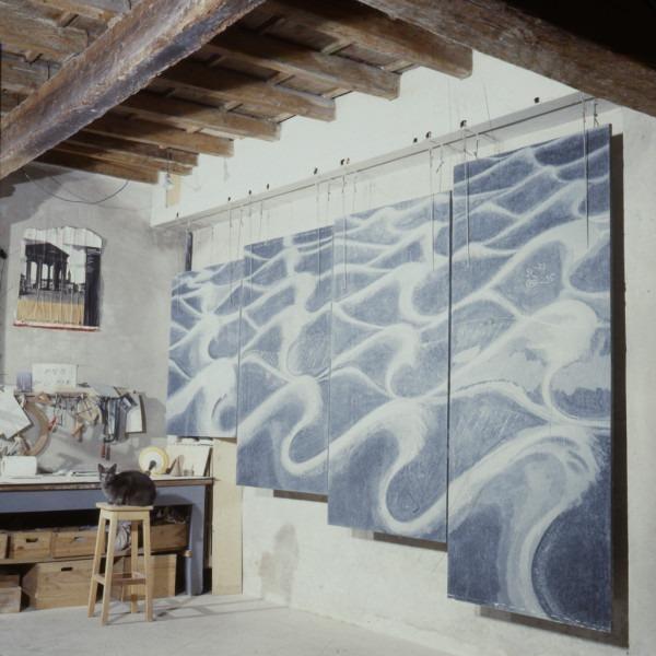 Amalia Del Ponte, Acqua nell'acqua, 1993