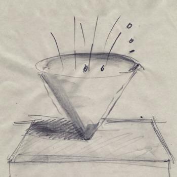 Amalia Del Ponte, Buttar via l'ego, 1996, disegno