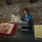 Amalia Del Ponte 2009 Omaggio a Simone Weil con Anne Marie Sauzeau Boetti