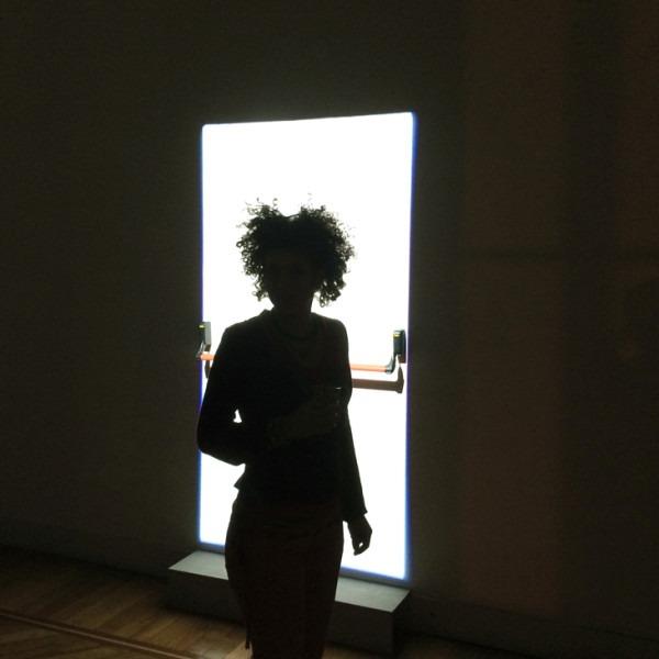 Amalia Del Ponte, La porta senza porta,  2015, ph Marina Ballo-Charmet