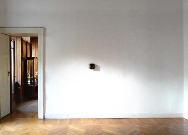 Amalia Del Ponte 2014 Il nano illuminato Galleria Milano