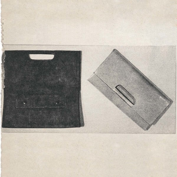 Amalia Del Ponte, Boomerang (borsa), 1965