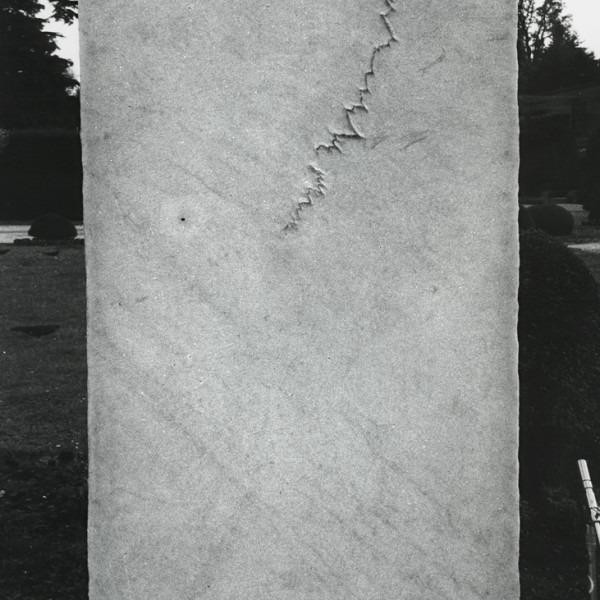 Amalia Del Ponte 1989 Temporale Giardini Estensi Varesi ph Maurizio Marzot