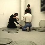 Amalia Del Ponte 1995 Musica in gocce Biennale di Venezia performance di David Rayder