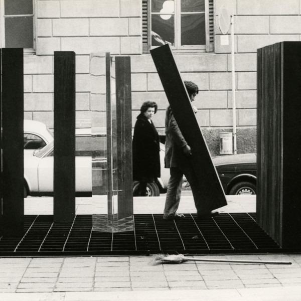 Amalia Del Ponte, Storia di uno, 1972, ph Arno Hammacher
