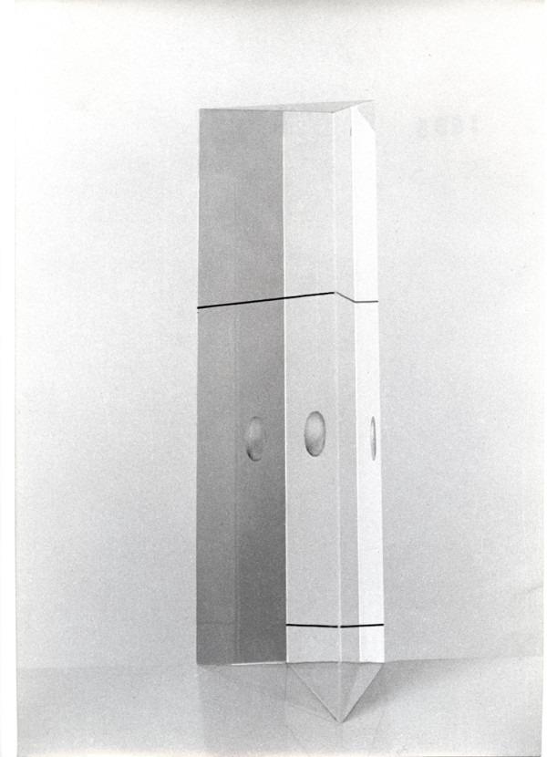 Amalia Del Ponte, Tropo n° 16, 1965, ph Arno Hammacher