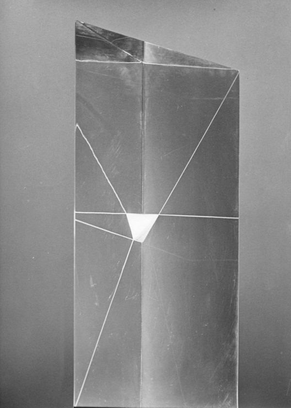 Amalia Del Ponte, Tropo n° 26, 1966, ph Mario Carrieri