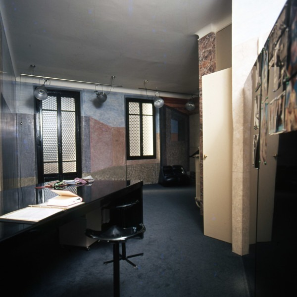 Amalia Del Ponte, Atelier, 1976, Milano