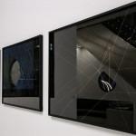 Amalia Del Ponte, Studi sulla rifrazione, 1967/68, exhibition view Onde lunghe e brevissime, Museo del Novecento, 2017