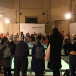 Amalia Del Ponte, Onde lunghe e brevissime, finissage Studio Museo Francesco Messina, performance di Elio Marchiesini, 2017