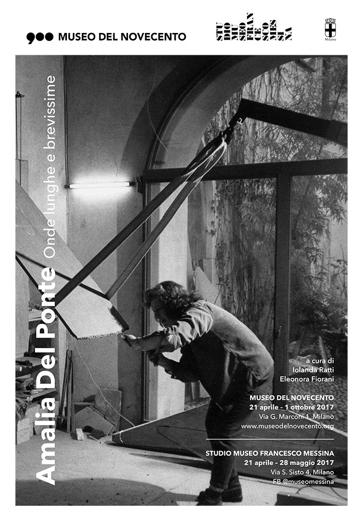 Onde lunghe e brevissime, Studio Museo Francesco Messina, Milano