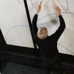 Performance di Elio Marchesini su Aria della Freccia, Studio Museo Francesco Messina